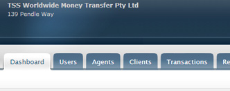 A Transaction Portal for the Australian based Client.