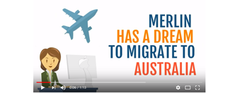 Animated explainer videos for Australia Immigration Company, Kerala, India.